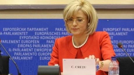 Corina Cretu, membru al Parlamentului European a sesizat problema inca din 2009
