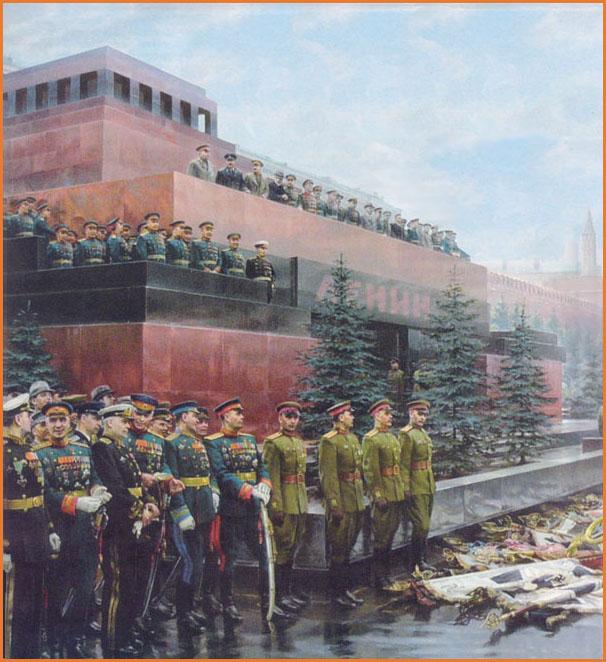 Za Stalina, tovarisci Ciuhandu!